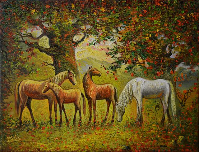 Cai în pădure