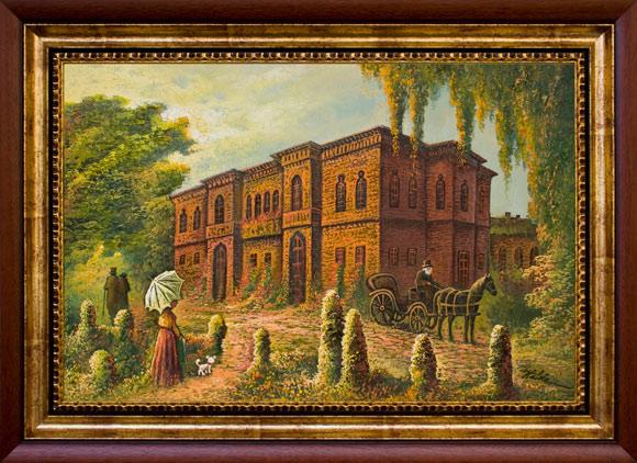Grădina Palatului Mogoșoaia