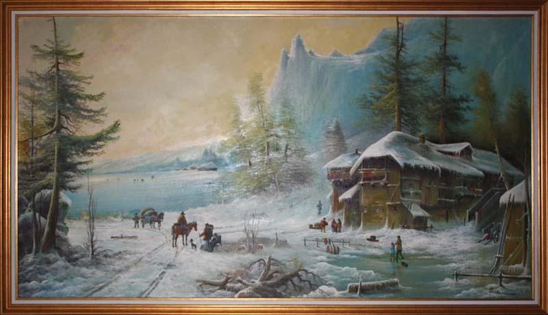 Iarna la han