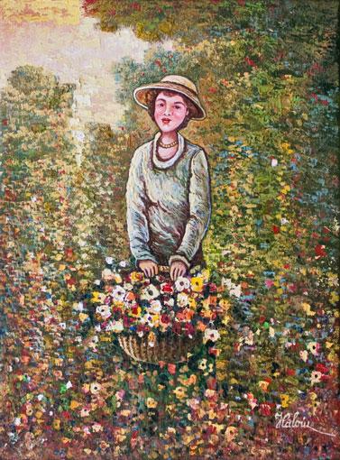 În lanul cu flori
