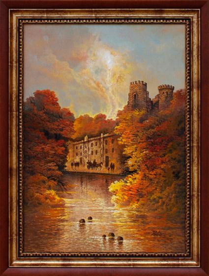 Toamna la castel