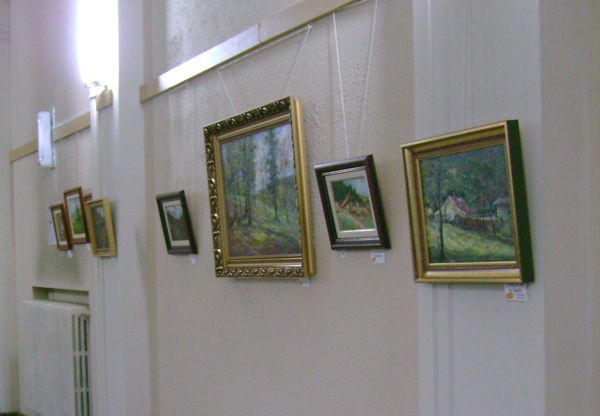 Expoziție de pictură Ionel Hăloiu