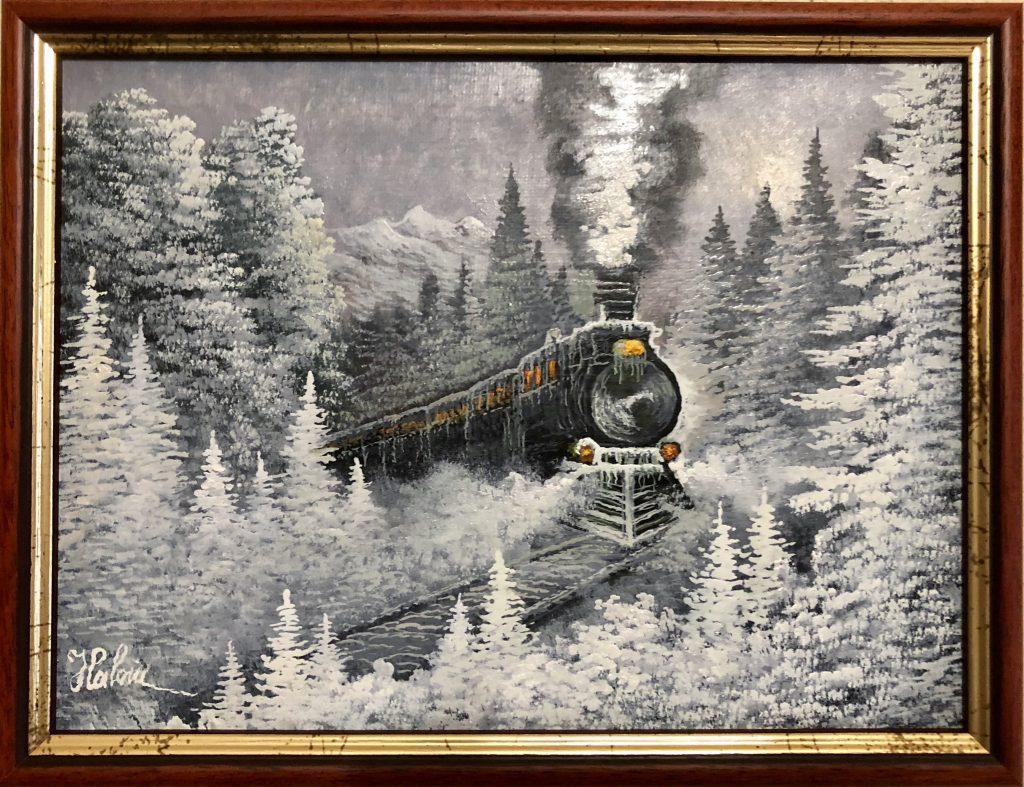 Trenul iernii